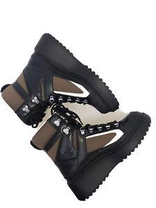 Zara Mountain Boots Lace Up Airfit Comfort Platforms UK5 EUR38 US7.5
