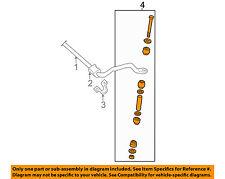 GM OEM Stabilizer Sway Bar-Front-Link 25747956