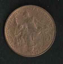 5 ct Dupuis 1912
