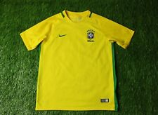 BRAZIL NATIONAL TEAM 2016-2017 FOOTBALL SHIRT JERSEY HOME NIKE ORIGINAL YOUNG XL