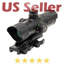 """UTG Tactical 6"""" ITA Red Green CQB Reflex T-Dot Sight Offset Quick Detach Mount"""