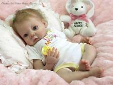 Soft Vinyl Reborn Baby Dolls Kit 3/4 Limbs Head Lifelike Doll Kits