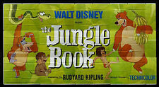 THE JUNGLE BOOK -WALT DISNEY- ORIGINAL AMERICAN 30 SHEET BILLBOARD MOVIE POSTER