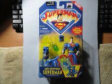 "2001 KENNER HASBRO "" SUPERMAN "" ANTI-KRYPTONITE WITH KRYPTONITE DISPOSAL CLAW"