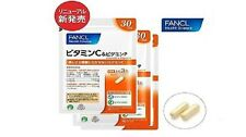 FANCL Vitamin C & Vitamin P For Your Beauty and Heath 30days x 3 Free Shipping