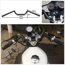 """Black 7/8"""" Bars Cafe Racer Ace Clubman Handlebar For CB500 CB650 CB750 KZ650 550"""