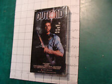 Factory Sealed VHS: OUTLAND w Sean Connery c. 1988