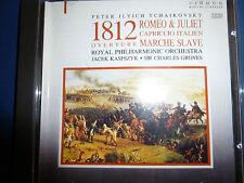Tchaikovsky : Romeo & Julia; Overtüre1812;  March Slave