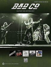 Bad Company Guitar Tab Anthology Sheet Music Guitar Tablature Book NEW 000702596