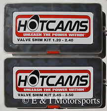 2007 2008 2009 SUZUKI Z400 Z 400 QUADSPORT ***HOT CAMS VALVE SHIM KIT***