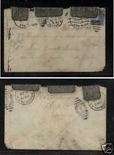 Belgium to US officially sealed cover  1919