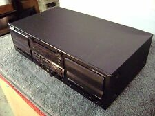 KENWOOD DOUBLE STEREO  CASSETTE DECK--- KX W 6040