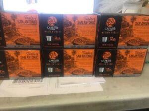 HEB Cafe Ole SAN ANTONIO Medium Roast Coffee 72 K cups * L@@K BB 04/19