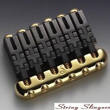 Schaller Hannes 6-string Guitar Bridge Gold 12010500