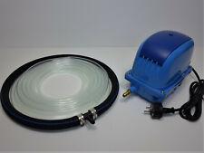 AquaForte AP 60 Teichbelüfter Sauerstoffpumpe Membrankompressor mit Belüfterring