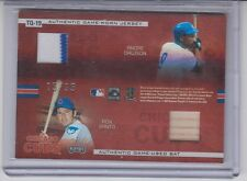 Playoff Absolute Memorabilia Quads Chicago Cubs Prior Grace Santo Dawson 15/35