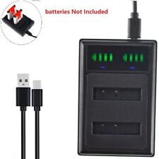Slim Battery Charger for Sony NP-BG1 FG1 Sony Cyber-shot DSC-HX5V DSC-H50 Camera