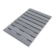 Pedana doccia in LEGNO ECOTECH grigio cm 55 x 68 per piatti da 70 x 90