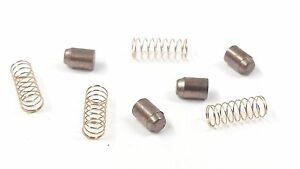 HORNBY X8466 CARBON BRUSHES & SPRINGS 4&4 TRAIN RINGFIELD MOTOR SPARES FITS LIMA