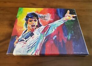 Michael Jackson King of Pop Colorful Art Canvas Poster 8 x 10