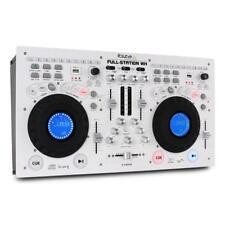 PROFI STUDIO LIVE DJ DOPPEL CD MP3 PLAYER MUSIK MIXER WORKSTATION CONSOLE USB SD