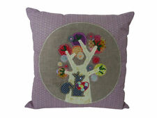 Embroidered 100% Linen Decorative Cushion Covers