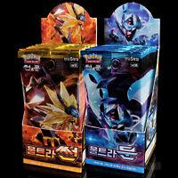 Booster JCC Pokemon ULTRA PRISME SL5 Ultra-Soleil et Ultra-Lune 2 Display Coréen