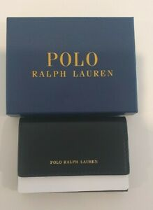 Polo Ralph Lauren Black Leather Key Wallet Brand New With Box