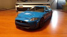 2011 Jaguar XKR-S French Racing Blue by Autoart 1:18 Diecast PLS READ DESCR