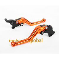 For 125 200 390 RC125/250/390 Short Clutch Brake Levers Orange CNC