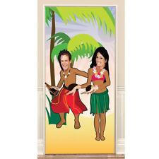 6ft Stand In Photo Door Banner Hawaiian Beach Tropical Party Prop Decoration