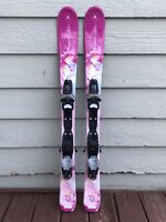 Dynastar Starlett 110cm Youth Girls Ski's w/Look C3 Fully Adjustable Bindings