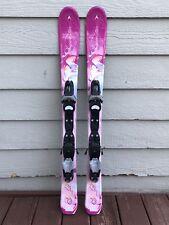 Dynastar Starlett 100cm Youth Girls Ski's w/Look C3 Fully Adjustable Bindings