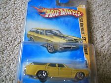 HOT WHEELS 2009 NEW MODELS '70 CHEVELLE SS WAGON 19/42 1:64 SCALE WITH CASE