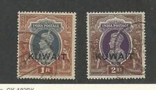 Kuwait, Postage Stamp, #53-54 Used, 1939, JFZ