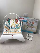 Fisher Price Colourful Carnival Bouncer Chair/seat