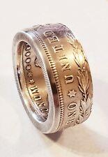 Handmade  1921 morgan 90% silver dollar coin ring Sizes 9-14