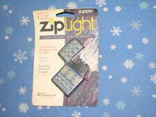 Zippo Primitive Floral ZipLight Flashlight in Original Blister Pack Zip Light