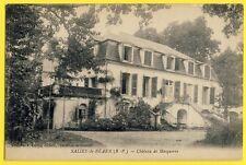 cpa Pays Basque 64 - SALIES de BEARN CHÂTEAU des Seigneurs de MOSQUEROS Castle