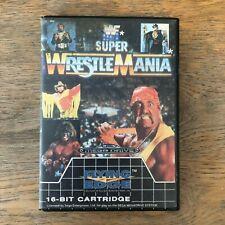 WWF Super Wrestlemania - Sega - Mega Drive - UK PAL - Used