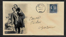 Bonnie & Clyde Collector's Envelope Original Period 1930s Stamp OP1199
