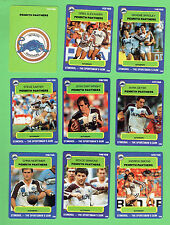 1990 PENRITH PANTHERS  STIMOROL RUGBY LEAGUE CARDS