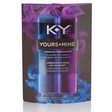 K-Y Yours + Mine Couples Personal Lubricants, 3 Ounce (Pack Of 2)