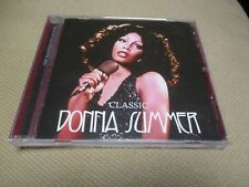 "CD ""DONNA SUMMER : CLASSIC"" best of 18 titres"