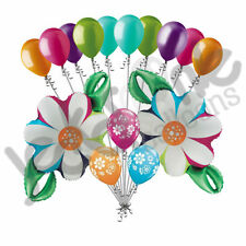 15 pc Colorful Daisy Chain Balloon Bouquet Party Decoration Flower Birthday Baby