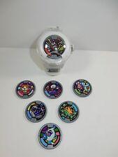Hasbro 2015 White Yo-Kai Watch w/ 8 Medals