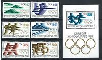 Allemagne (DDR) N°2796/2801 + Bloc 10** (MNH) 1988 - J.O de Séoul