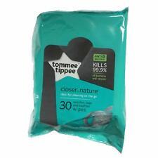 Tommee Tippee Closer To Nature Teat e Ciuccio Salviette Confezione da 30