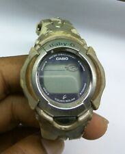 VINTAGE CASIO BABY-G  (2615)  BG-800S  WATCH FOR PARTS & REPAIR & WATCHMAKERS