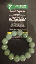 SALE HUGE 14mm BLESSED Green Aventurine Crystal Bracelet Gem Prosperity Success